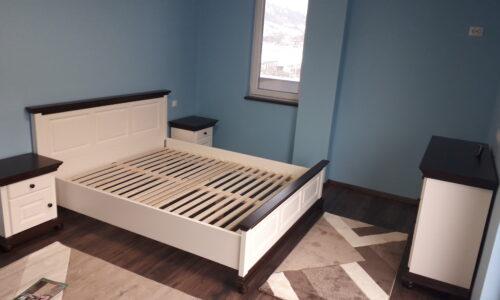 Set Dormitor Celia, Configurabil, Alb/Nuc photo review