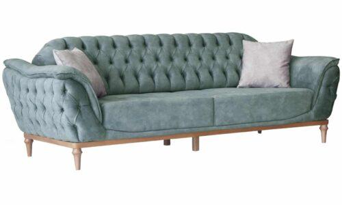 Canapea Extensibilă Lily, Verde