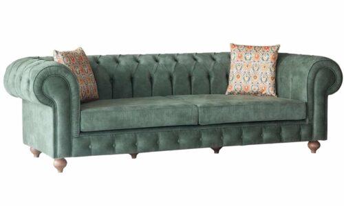 Canapea Fixă Ralph, Verde