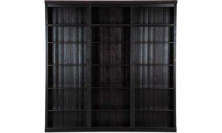 Bibliotecă, Lemn Masiv, 220x35x220cm