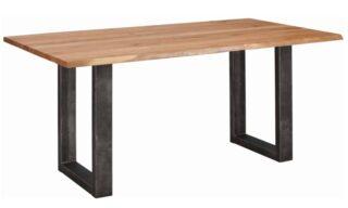 Masă Dining Roland, Stejar, Picioare Metal