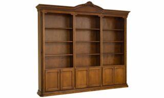 Bibliotecă Valerio, 262x40x244cm, Lemn Masiv