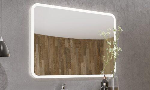 Oglindă retroiluminată LED dreptunghiulară