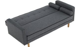 Canapea Bonny Gri, Extensibilă, 189 cm