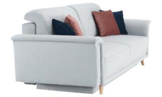 Canapea Francis Gri, Extensibilă, cu Depozitare, 238 cm