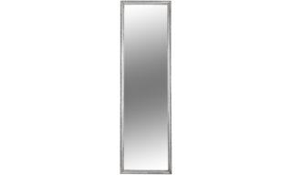 Oglindă, Ramă Argintie, Lemn, 38x128 cm