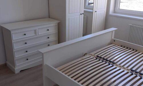 Set Dormitor Linea, Lemn Masiv, Alb photo review