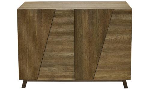 Comodă James, Lemn Masiv Stejar, 120x48x85cm