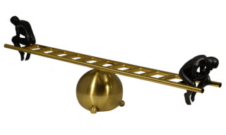 Decorațiune Balansoar Auriu