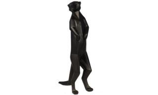 Statuetă Suricată, Negru