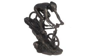 Statuetă Biciclist, Negru