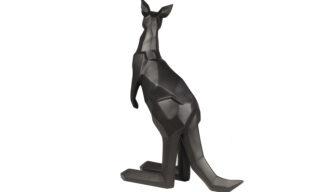 Statuetă Cangur, Negru