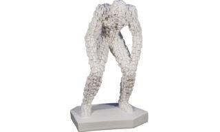 Statuetă Gânditor, Alb