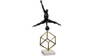 Statuetă Cub cu Gimnast